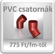 PVC ereszcsatorna rendszer